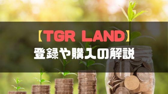 TGRLANDゴールドスポンサー登録や購入
